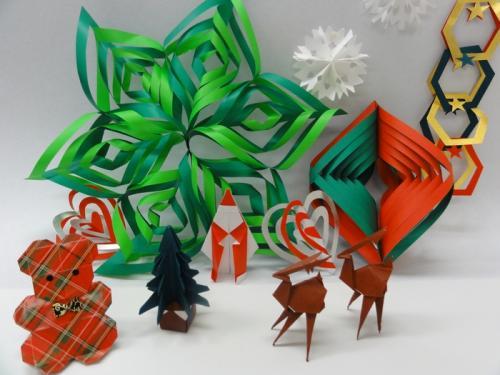 クリスマス 折り紙 クリスマス 飾り 折り紙 : origamikaikan.co.jp