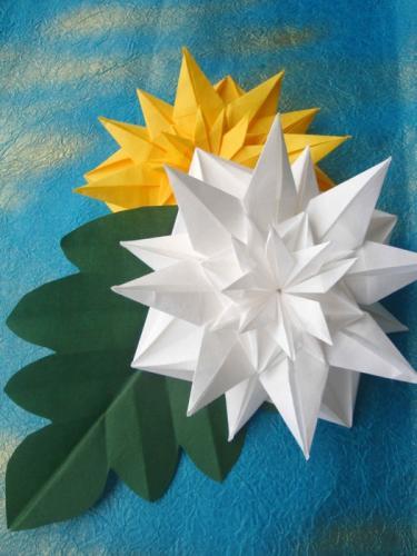 クリスマス 折り紙 折り紙 菊 : origamikaikan.co.jp